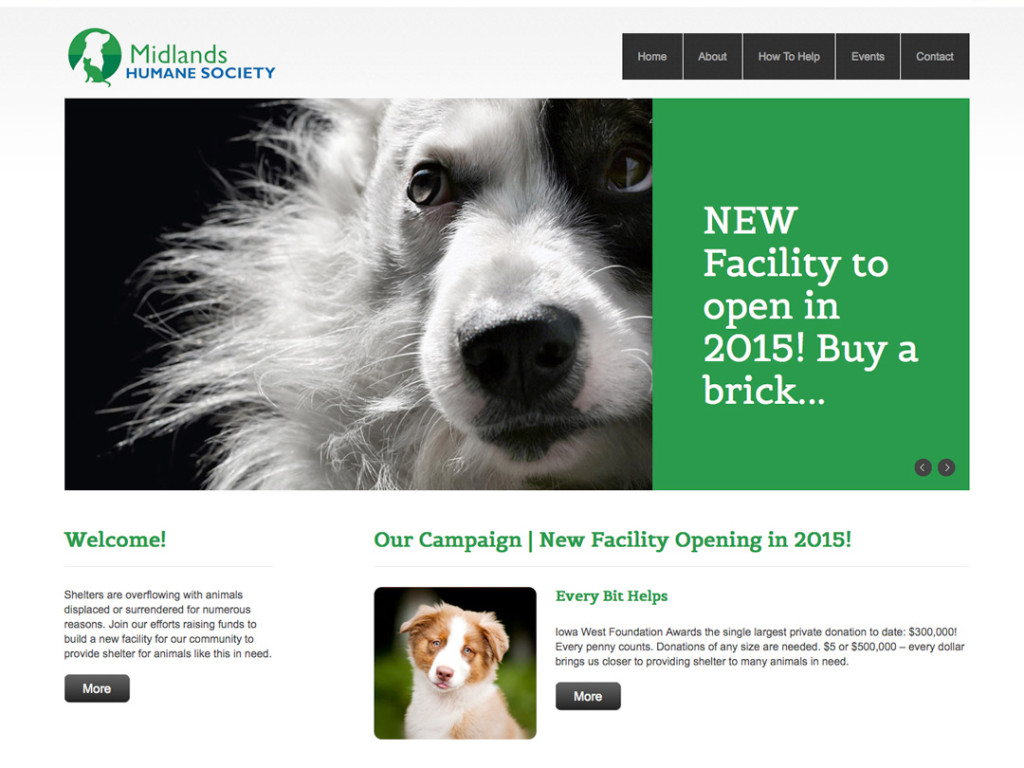 Midlands Humane Society Website