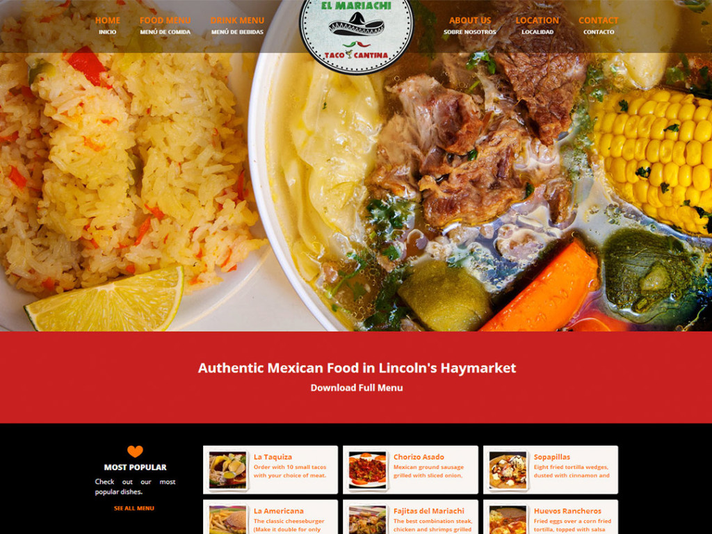 El Mariachi Website