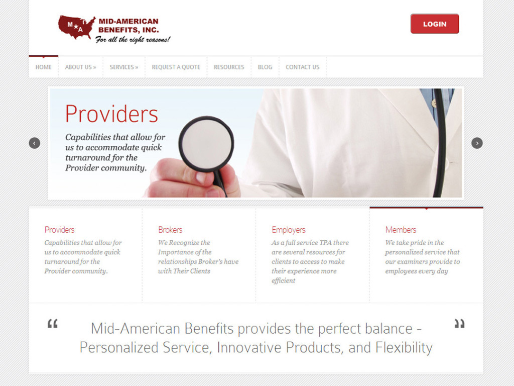 Mid-American Benefits Website