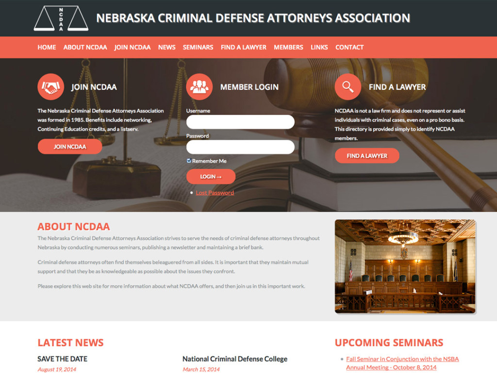 Nebraska Criminal Defense Attorneys Website