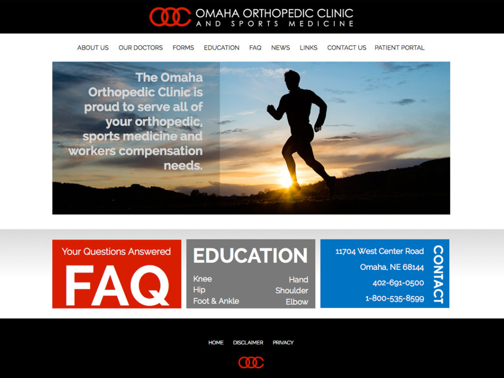 Omaha Orthopedic Website