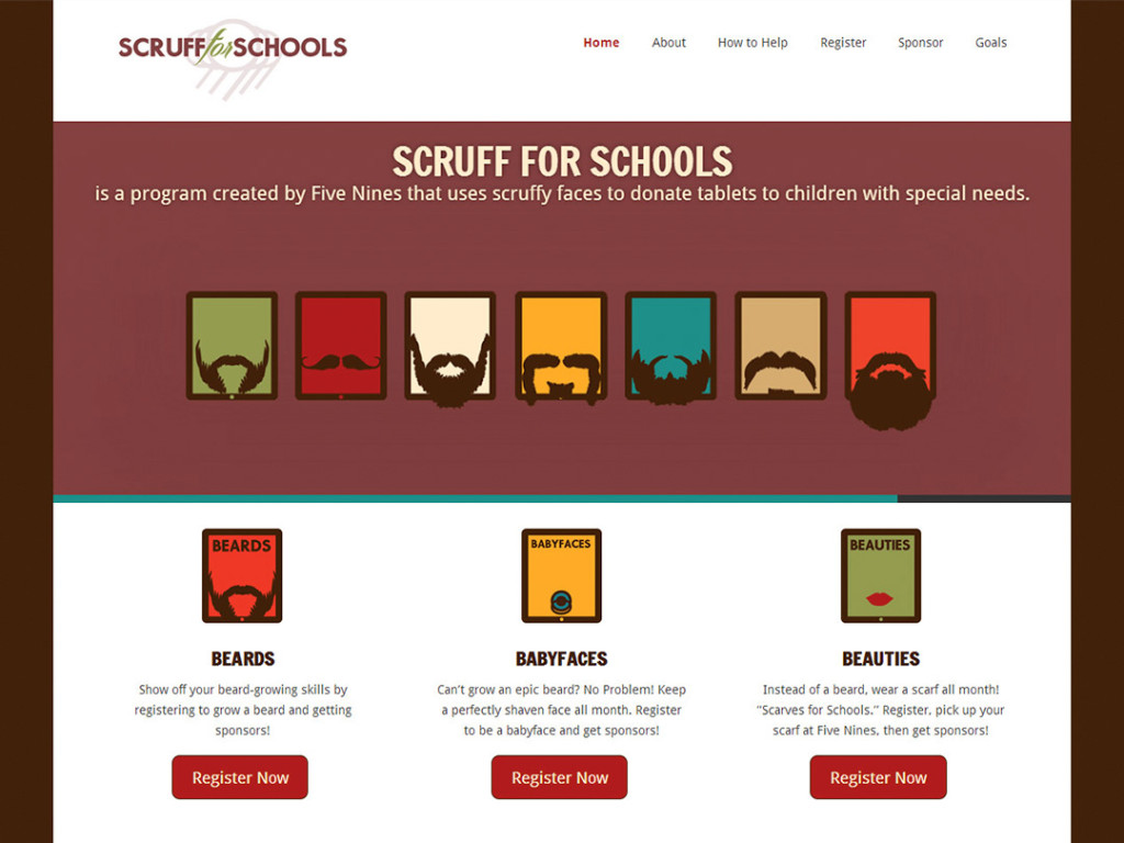 Scruff for Schools Website