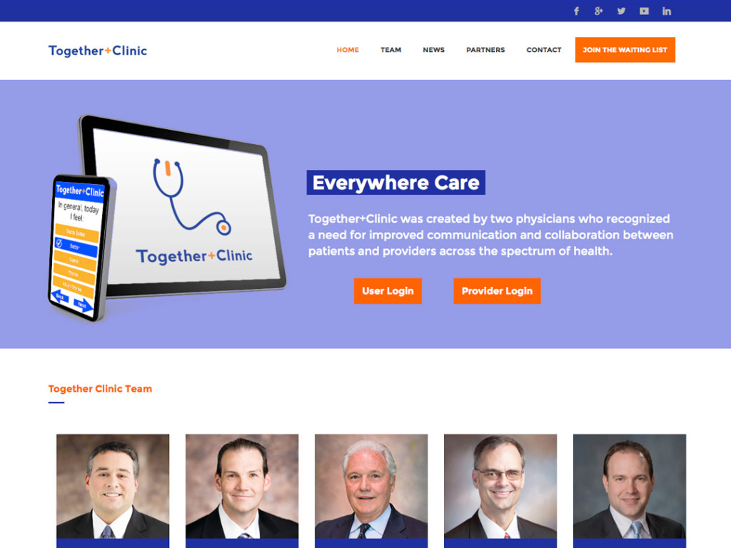 Together Clinic Website