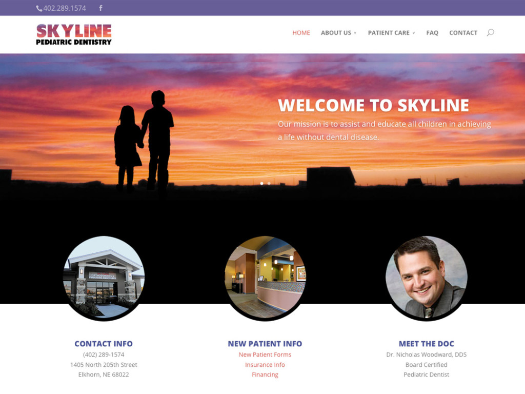 Skyline Pediatric Website