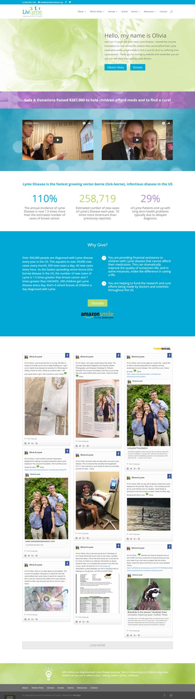 livlyme  Longmont Website Design Image