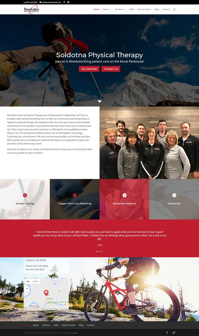 revolutionhome  Longmont Website Design Image